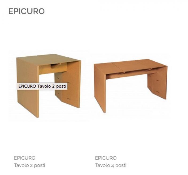 EPICURO Tavolo 2 posti      Codice articolo: