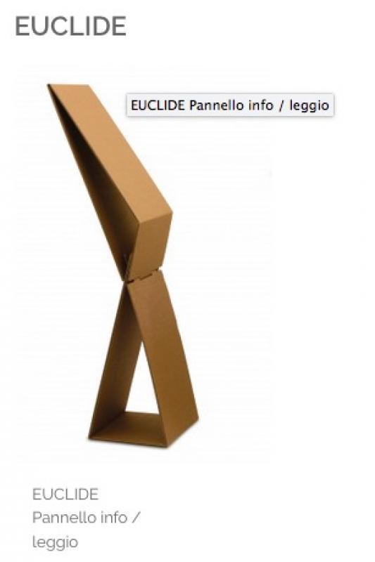 EUCLIDE Pannello info